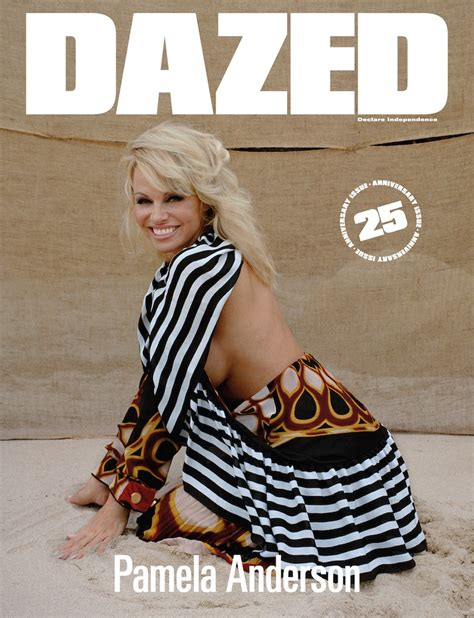 3 Things We Learned from Pamela Anderson's 'Dazed' Cover Story