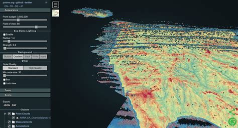 USGS 3DEP Lidar Point Cloud Repository Available as an