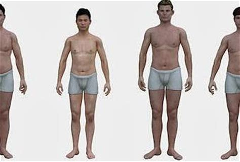 What Does the Average American Man Look Like Compared To