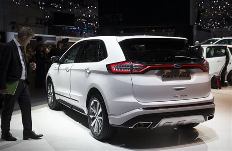 Edge Vignale Looking To Class Up Ford's SUV Lineup | Carscoops