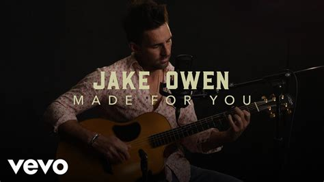 """Jake Owen - """"Made For You"""" Live Performance   Vevo - YouTube"""