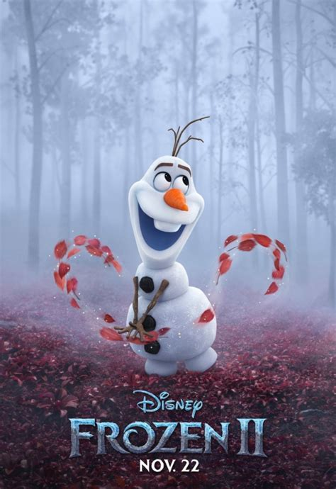 Frozen 2 new character posters wield their magic
