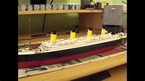 Building the Revell Titanic 1:570 - YouTube