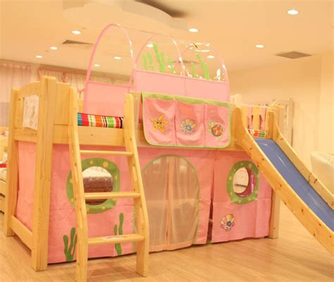 Bunk bed or loft bed curtain and canopy