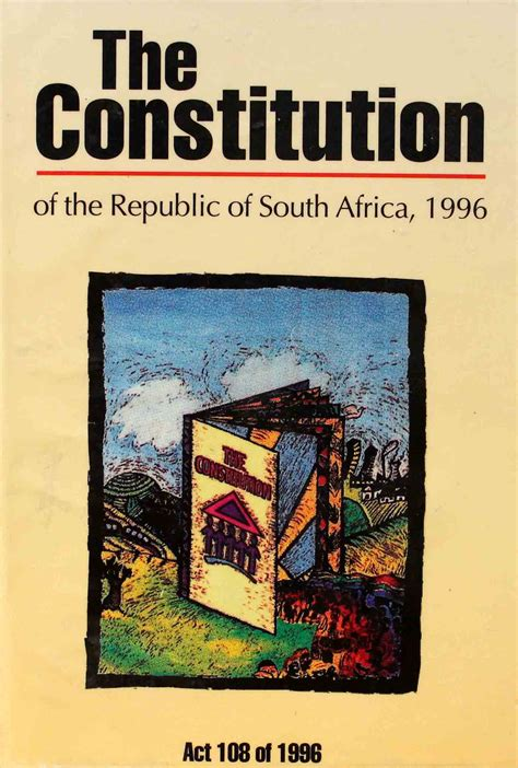 Drafting of the Final Constitution   South African History