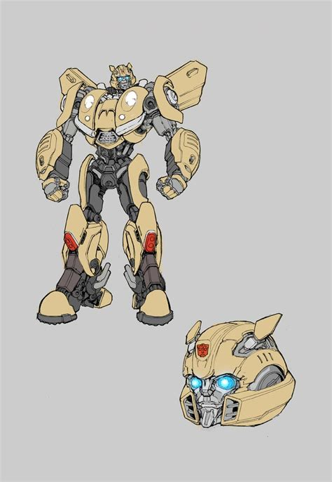 IDW Bumblebee Movie Prequel Sketches By Andrew Griffith