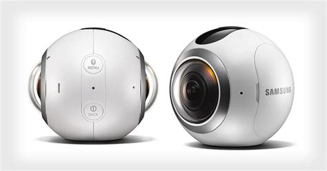 Samsung Gear 360 is a Ball-Shaped Camera for 360° Photos