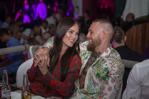 Conor McGregor and Dee Devlin share adorable snaps from