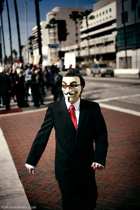 Scientology Protests - Los Angeles, CA, February 2008 on