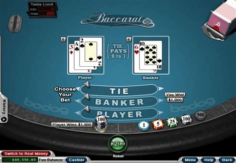 Baccarat by Realtime Gaming   Review & Free Play