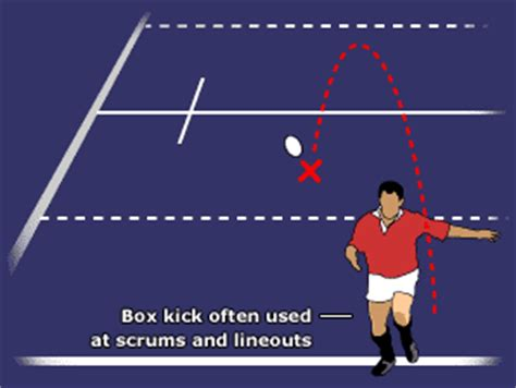 BBC Sport Academy | Rugby Union | Features | Box kick