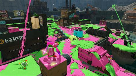 Splatoon is getting two new maps, watch them here - VG247