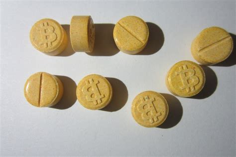 There are Bitcoin-branded ecstasy pills going around