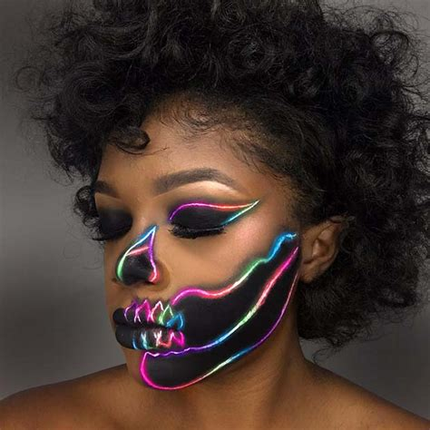 23 Skeleton Makeup Ideas for Halloween   Page 2 of 2
