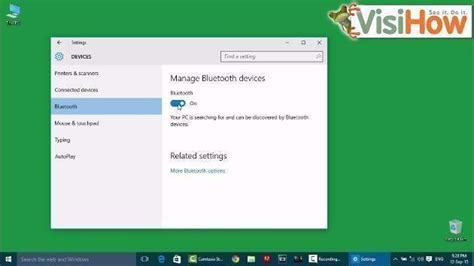 Turn On Bluetooth in Windows 10 - VisiHow
