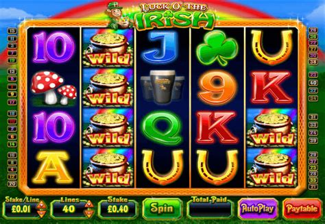 Luck o' the Irish Slot   Review & Free Play
