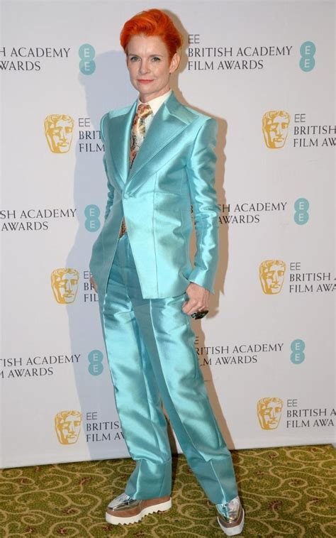 Sandy Powell's David Bowie homage was one the best looks