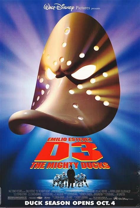 D3 Mighty Ducks 3 movie posters at movie poster warehouse