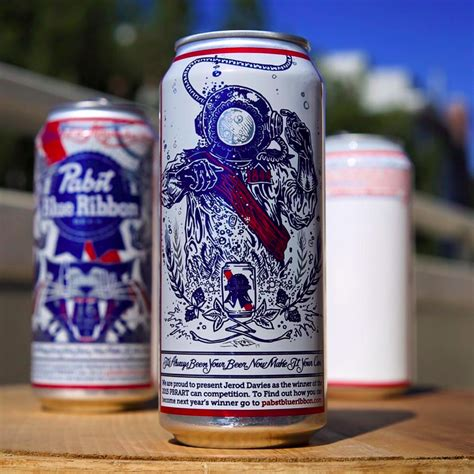 This Pabst Blue Ribbon Fan Art Will Appear on 6 Million