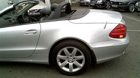 2006 MERCEDES SL350 CONVERTIBLE AUTO SILVER WITH PANO ROOF