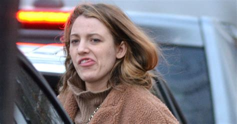 Blake Lively goes make-up free as she steps out in