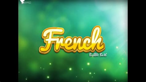 French Vocabulary Game: French Bubble Bath for iPhone