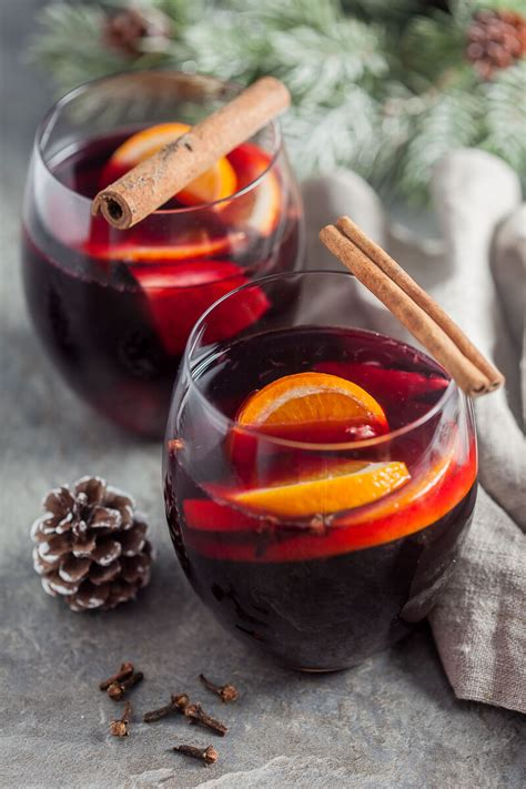 Heartwarming Mulled Red Wine - Vibrant Plate