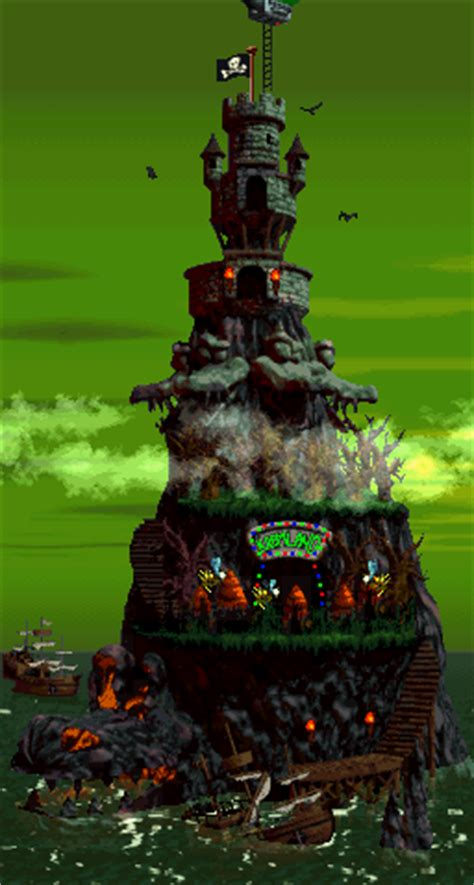 Donkey Kong Country 2 World Map Quiz - By DLspartan93
