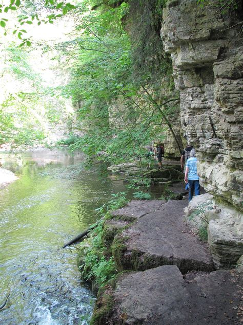 The Wutach Gorge in the Black Forest