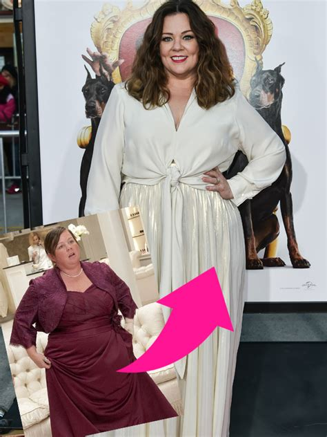 Melissa McCarthy's weight loss in pictures