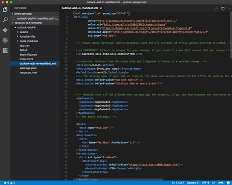Office Add-ins with Visual Studio Code