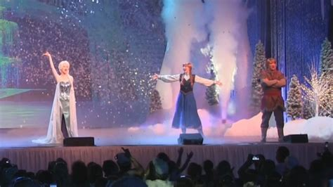 Full Uncut Frozen Sing-Along Celebration stage show at