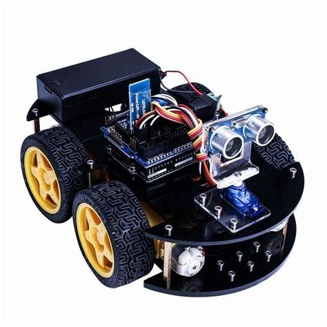 Uno Project Smart Robot Car Kit With Uno R3 / Ultrasonic