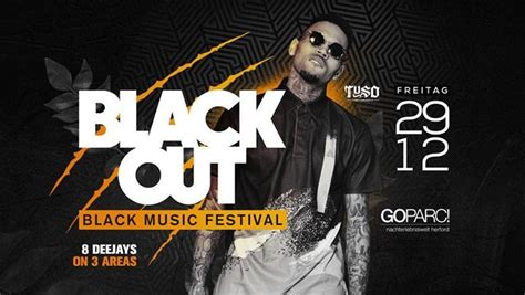 Party - BLACK OUT - Black Music DJ Festival - GOPARC in