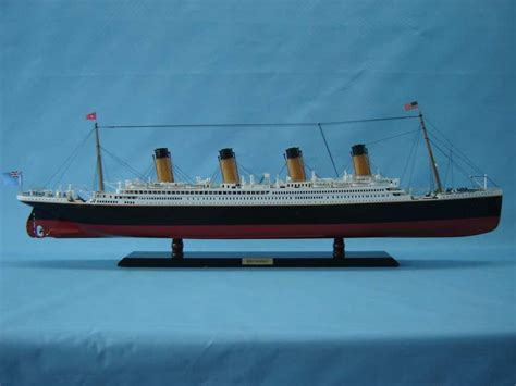 Buy RMS Britannic Limited Model Cruise Ship 40in - Model Ships