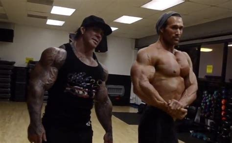 Looking Back: Mike O'Hearn blasts arms with the late Rich