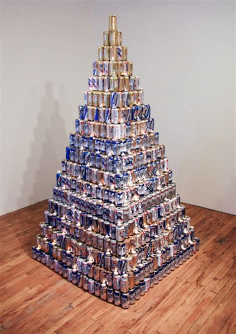 Beer Can Pyramid | Gearfuse