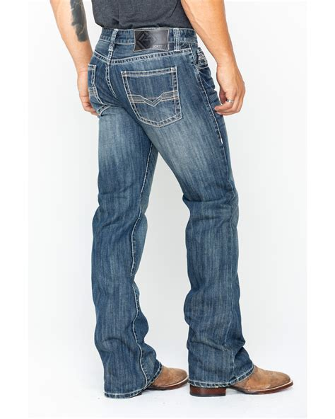 Rock and Roll Cowboy Men's Pistol Bootcut Jeans | Boot Barn