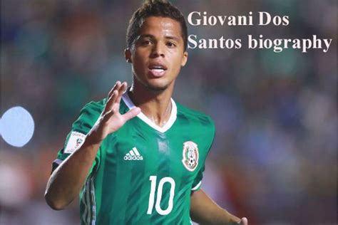 Giovani Dos Santos profile, height, wife, brothers, family