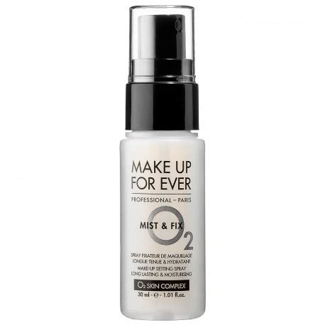 MAKE UP FOR EVER Mist & Fix Setting Spray 30ml - BeautyKitShop