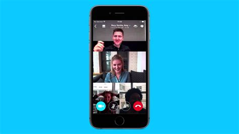 How to make a group video call on Skype for iPhone - YouTube