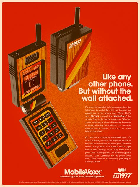 Gadgets from the Present, Ads from the Past - DesignTAXI