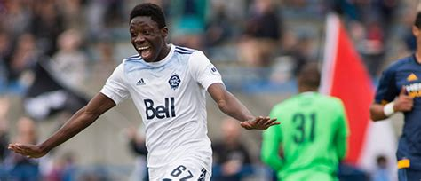 Vancouver Whitecaps sign 15-year-old Alphonso Davies to