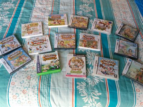 Increasing Harvest Moon collection : gamecollecting