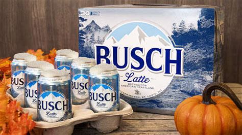 Busch Light Released Limited-Edition Busch Latte Cans
