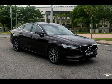 2017 Volvo S90 T5 First Test: Intriguing E300, 530i