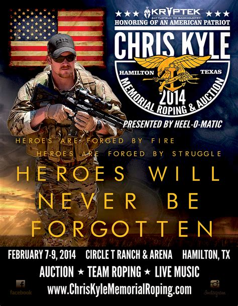 The First Annual Chris Kyle Memorial Roping and Auction