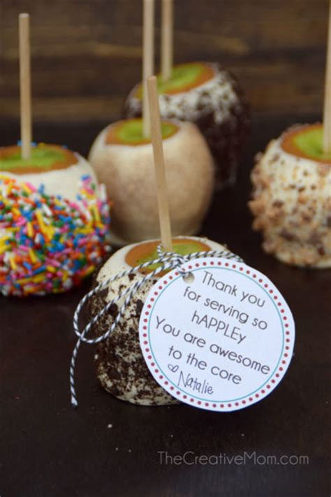 How to make candy apples (and a free gift tag!) - The