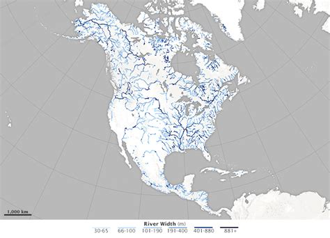 A Satellite View of River Width : Image of the Day