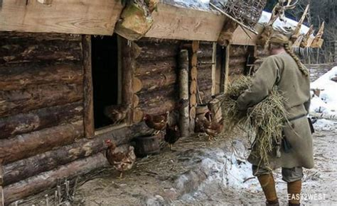 A day in the life of an ancient Russian hermit   Ancient